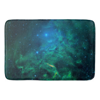 Flaming Star Nebula Bath Mat
