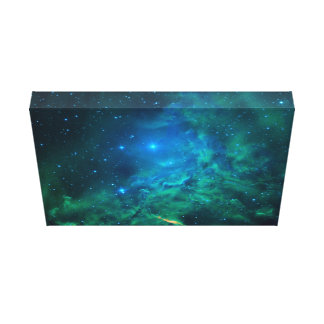 Flaming Star Nebula Canvas Print