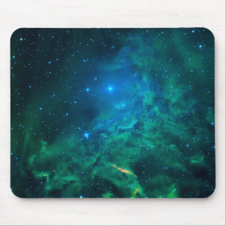 Flaming Star Nebula Mouse Mat