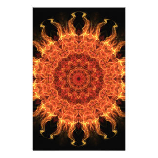 Flaming Sun Stationery