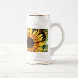 Flaming Sunflowers Coffee Mug