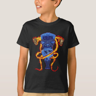 Flaming Tiki T-Shirt