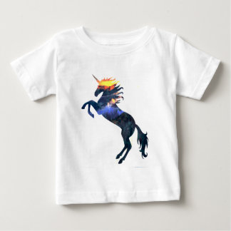 Flaming unicorn baby T-Shirt