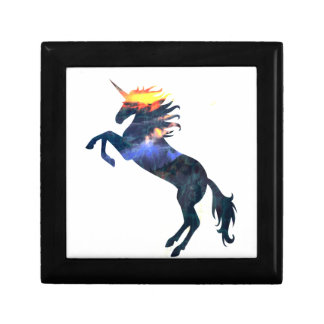 Flaming unicorn gift box
