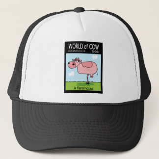 Flamingcow Trucker Hat
