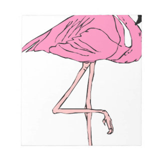 flamingo #10 notepad
