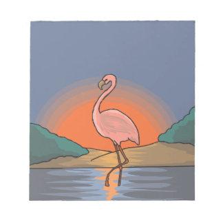 flamingo #14 notepad
