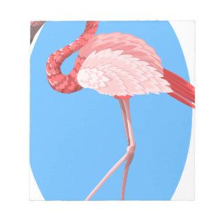 flamingo #7 notepad