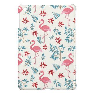 Flamingo And Flowers iPad Mini Cover