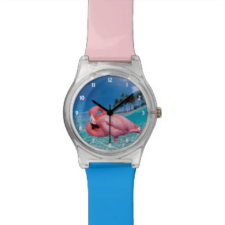 Flamingo and Palms Watch