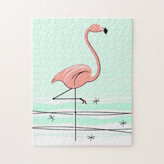 Flamingo Aqua puzzle