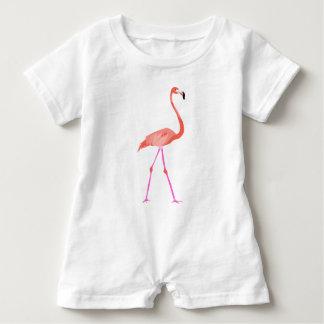 flamingo baby bodysuit
