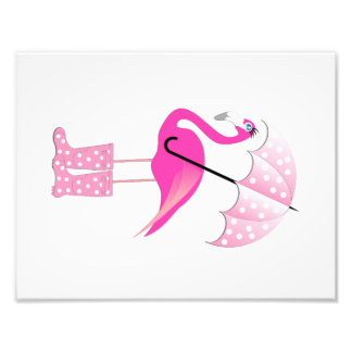 Flamingo Baby Girl Room Print (4 of 4) Art Photo