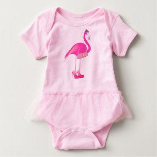Flamingo Baby Tutu Bodysuit