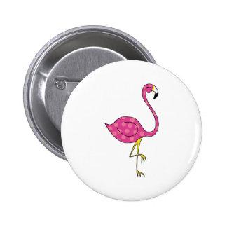 flamingo button