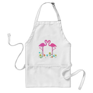 Flamingo Barbeque Apron