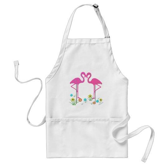 Flamingo Barbeque Apron