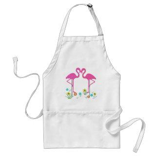 Flamingo Barbeque Apron Apron