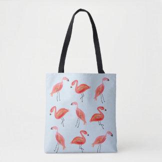 Flamingo Beach Please Tote