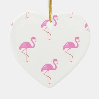 Flamingo Bird Christmas Ornament