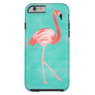 Flamingo Bird Tough iPhone 6 Case