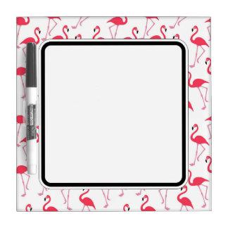 Flamingo Border. Dry Erase Board