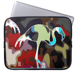 flamingo camuflage. Camuflage series Laptop Sleeve