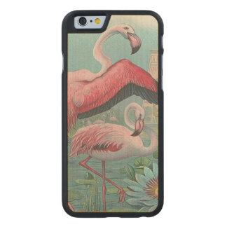 Flamingo Carved® Maple iPhone 6 Slim Case