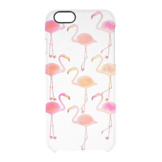 Flamingo Clear Phone Case