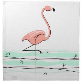 Flamingo cloth napkins (set)