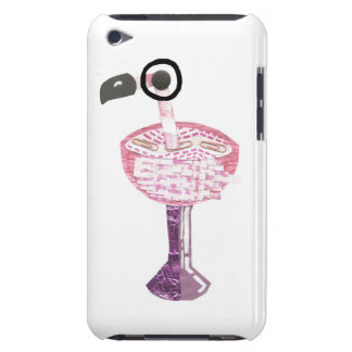 Flamingo Cocktail 4th Generation I-Pod Touch Case