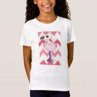 Flamingo Cocktail Girl's T-Shirt