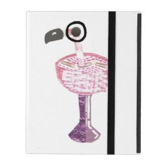 Flamingo Cocktail I-Pad 2/3/4 Case