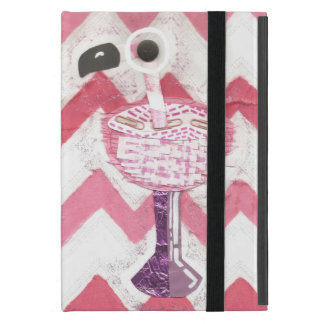 Flamingo Cocktail I-Pad Mini Case
