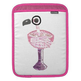 Flamingo Cocktail I-Pad Sleeve