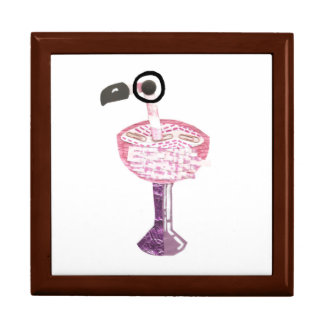 Flamingo Cocktail Jewellery Box