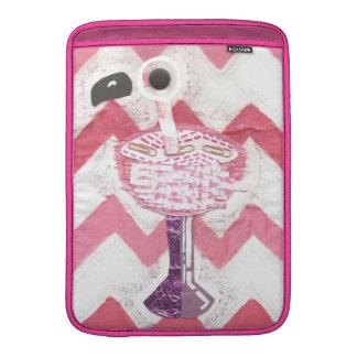 Flamingo Cocktail Macbook Air Sleeve