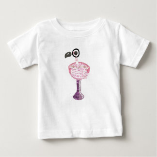Flamingo Cocktail No Background Baby T-Shirt