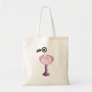 Flamingo Cocktail No Background Bag