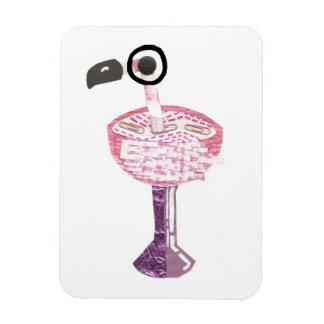 Flamingo Cocktail No Background Photo Magnet