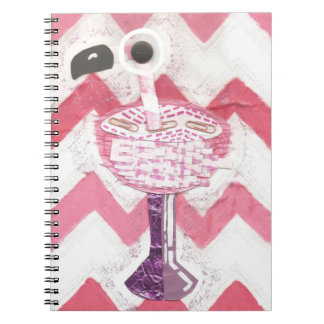 Flamingo Cocktail Notebook
