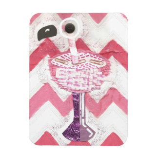 Flamingo Cocktail Photo Magnet