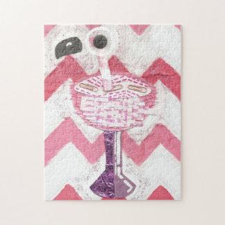 Flamingo Cocktail Puzzle