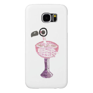 Flamingo Cocktail Samsung Galaxy S6 Case