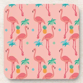 Flamingo Coral Coaster