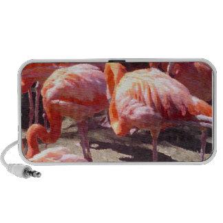 Flamingo  Dancer iPhone Speaker