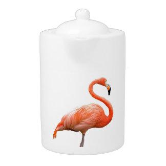 """Flamingo"" design teapots"