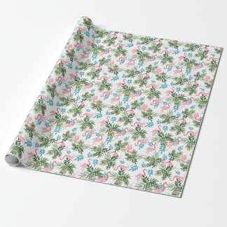 Flamingo Design Wrapping Paper