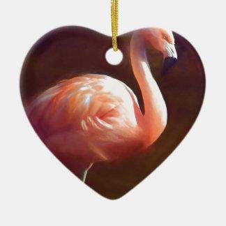 flamingo dream.jpg christmas ornament