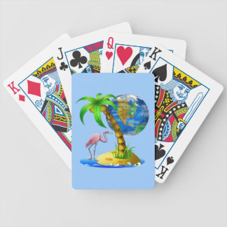 Flamingo Earth 11 styles Bicycle® Playing Cards